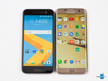 HTC 10 vs Samsung Galaxy S7 edge