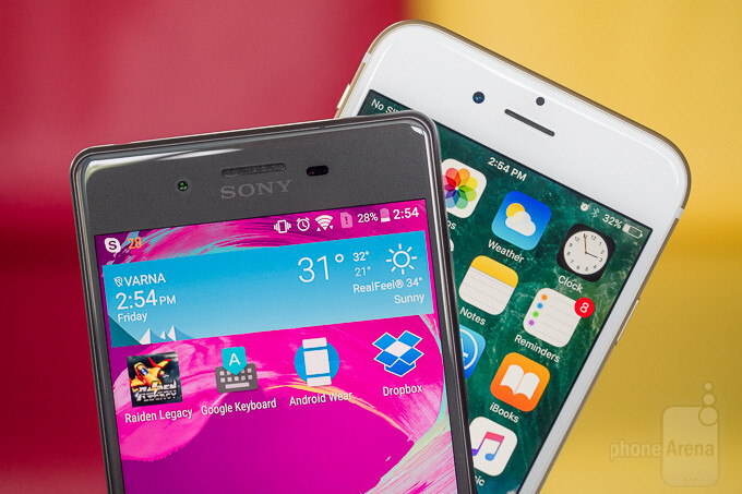 Sony Xperia X vs Apple iPhone 6s - PhoneArena