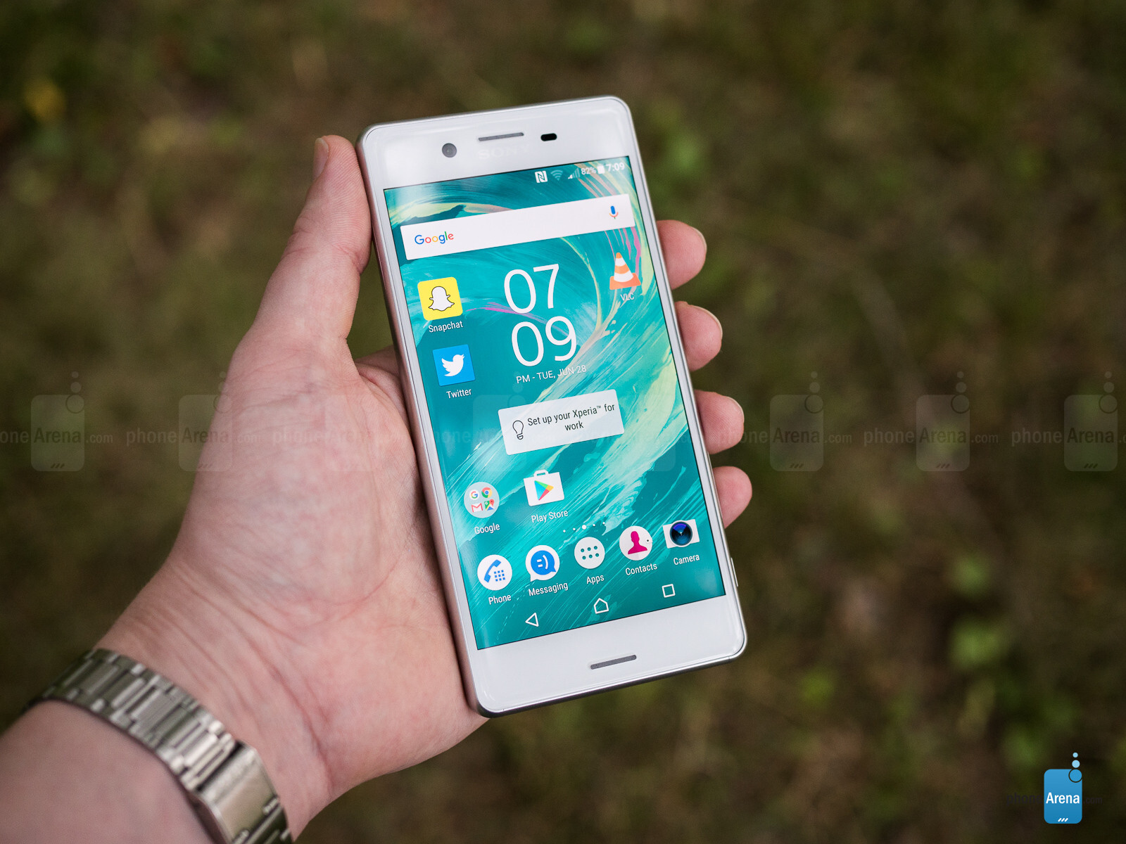 Sony Xperia: how to set up the Internet