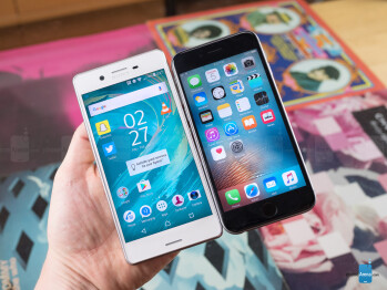 Sony Xperia X Performance vs Apple iPhone 6s