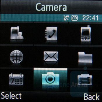 Menu - Samsung SGH-E590 Review