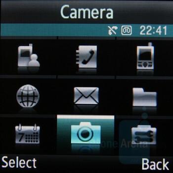 Menu - Samsung SGH-E590 Review