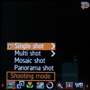 Options - Samsung SGH-E590 Review