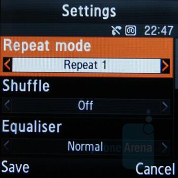 Music Player - Samsung SGH-E590 Review