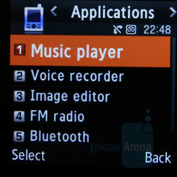 Music Player - Samsung SGH-E590 Review