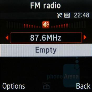 FM Radio - Samsung SGH-E590 Review