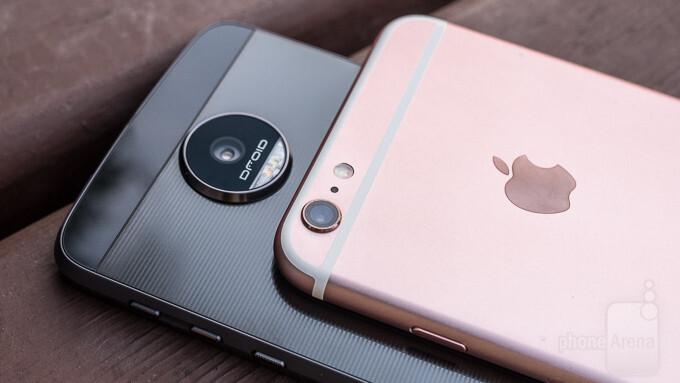 Moto Z Force Droid vs Apple iPhone 6s Plus