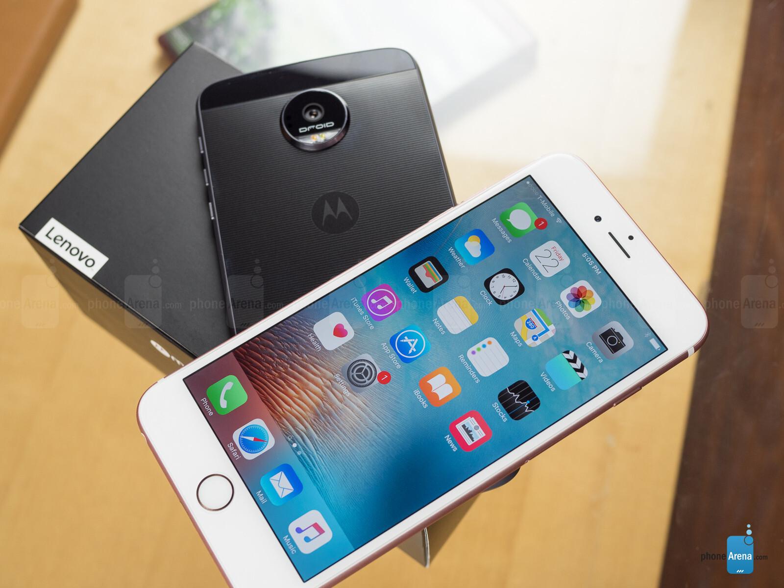 Motorola Moto Z Vs Iphone 7