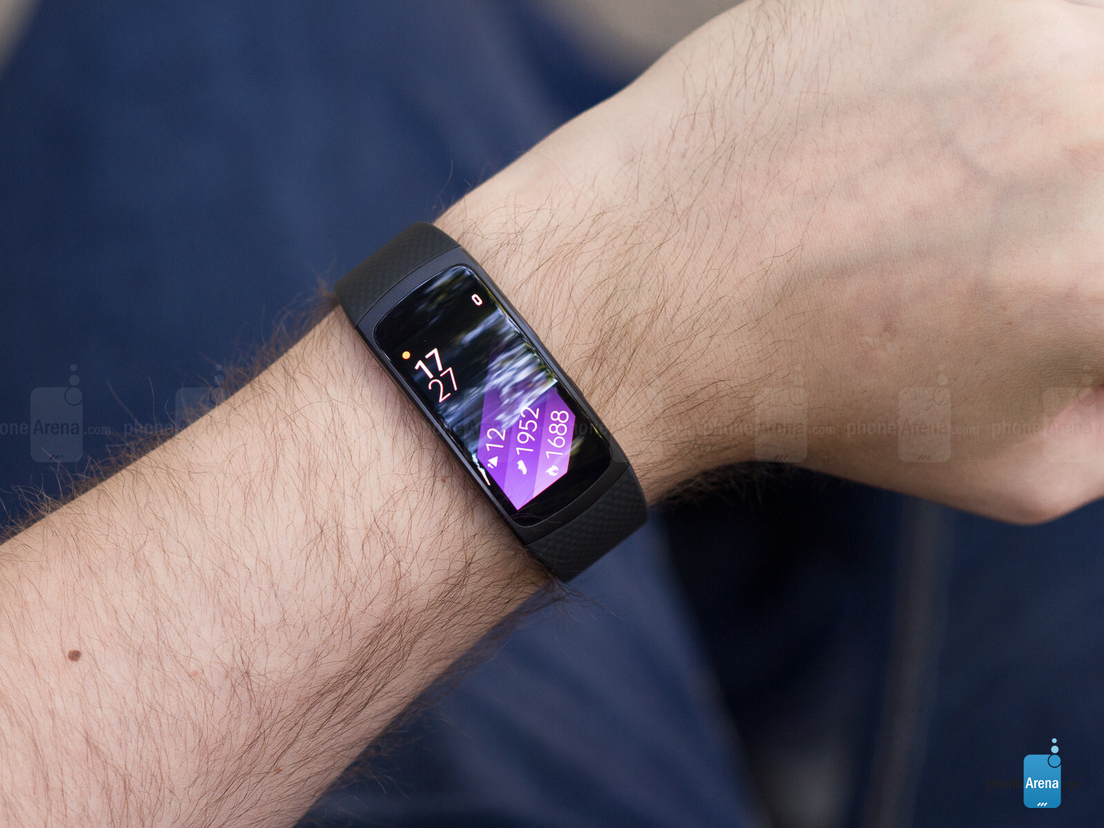 Samsung Gear Fit  With Iphone