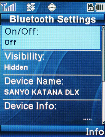 Sanyo Katana DLX Review