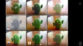 Camera interface - Samsung Galaxy Note 7 Review
