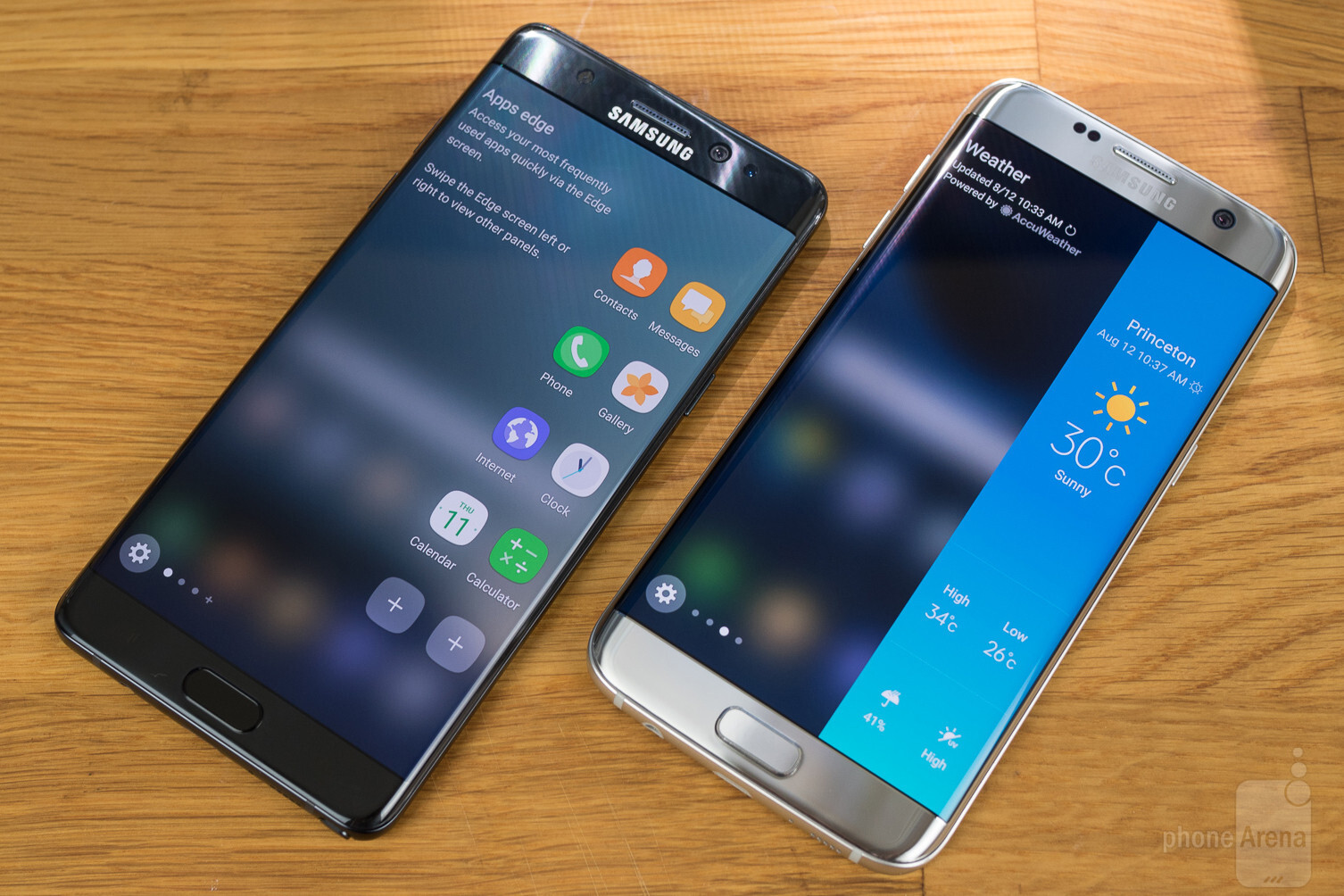 Samsung Galaxy Note 7 vs Samsung Galaxy S7 Edge - Call Quality, Battery life and Conclusion