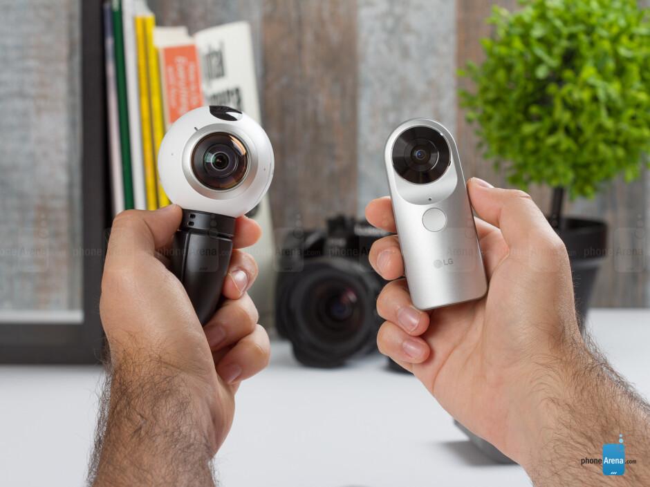 Samsung Gear 360 vs LG 360 Cam: comparison