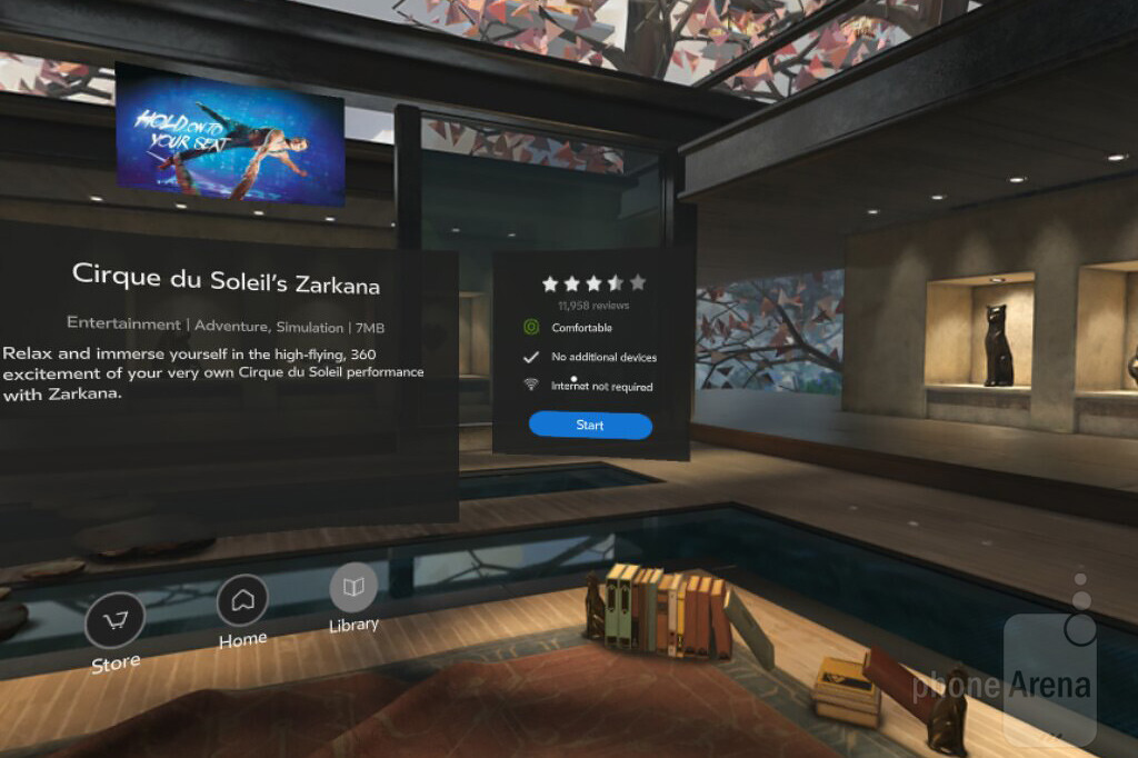 Samsung gear vr 2016 review interface and content setup for Vr house