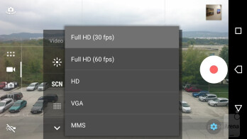 Camera UI of the Sony Xperia X Compact - Sony Xperia X Compact Review