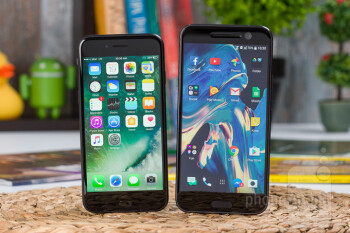 Apple iPhone 7 vs HTC 10