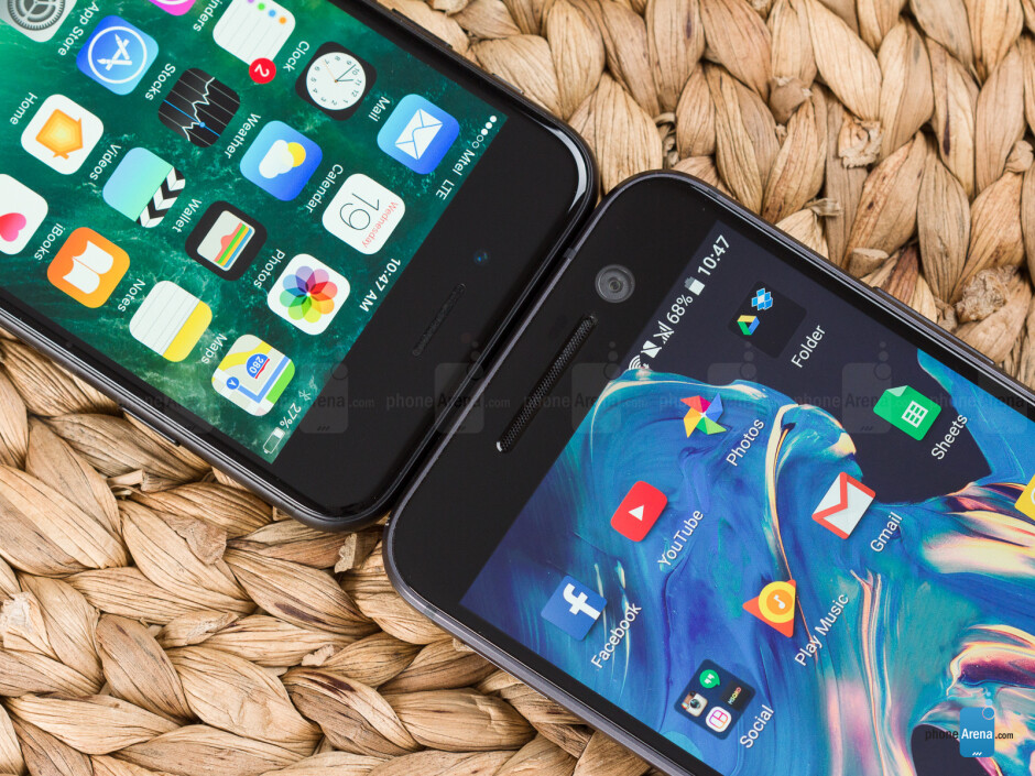 Apple iPhone 7 vs HTC 10