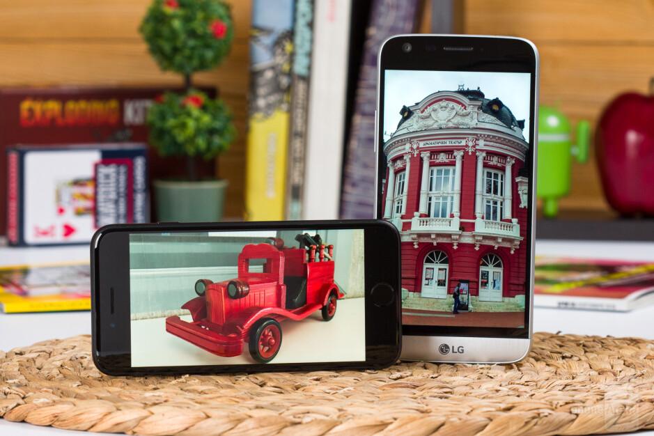 Apple iPhone 7 vs LG G5