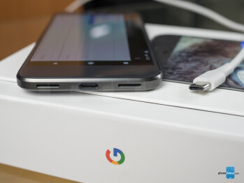 The charger's got a USB Type-C port - Google Pixel Review