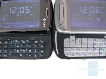 HTC TyTN II (left) Compared to HTC TyTN (right) - HTC TyTN II Review