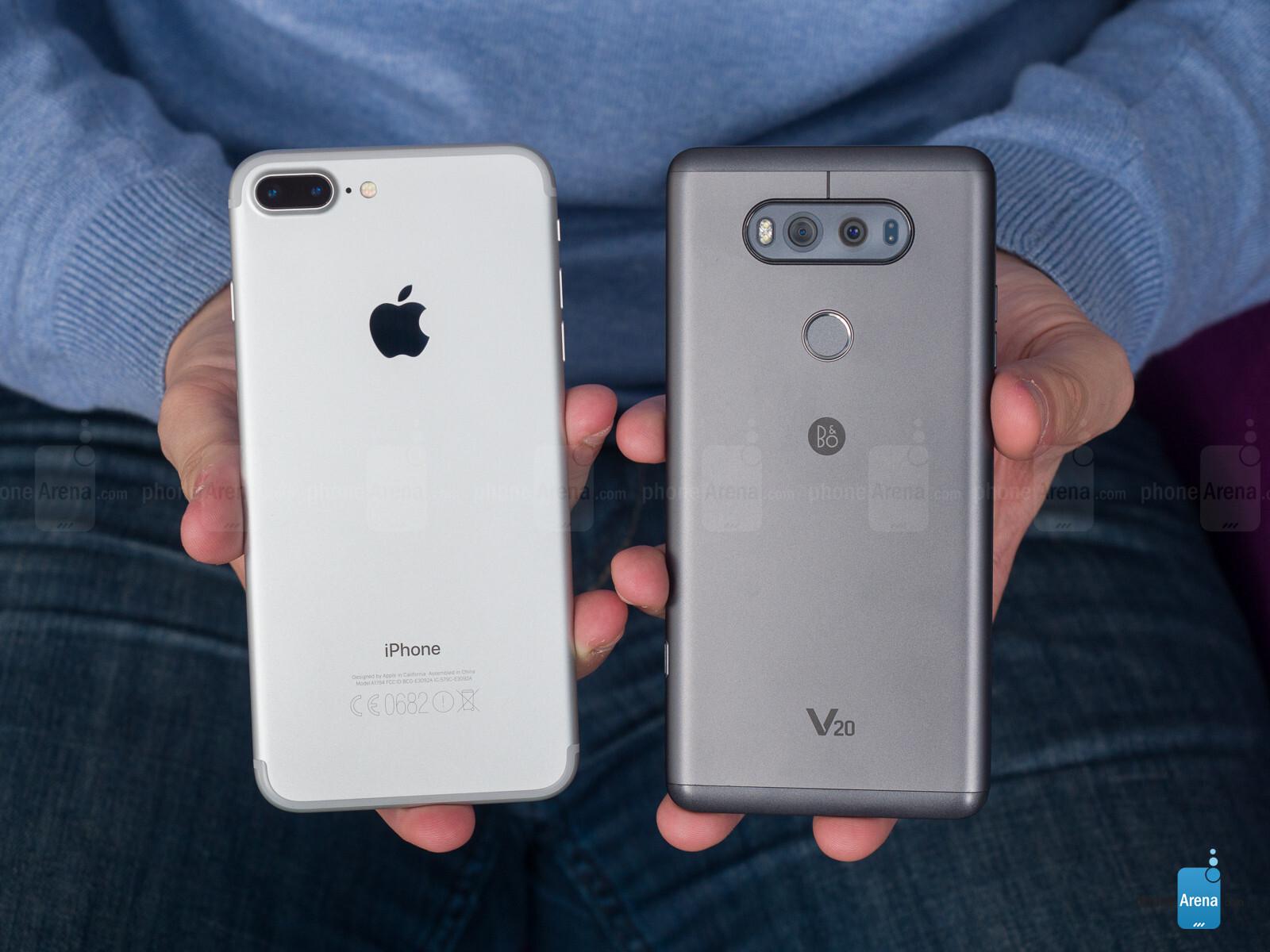 LG SMARTPHONE VS IPHONE
