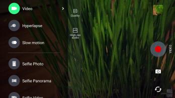 Camera UI of the HTC Bolt - HTC Bolt Review