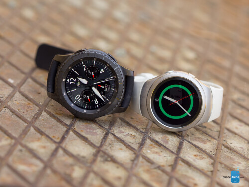 Next to Gear S2 (right)