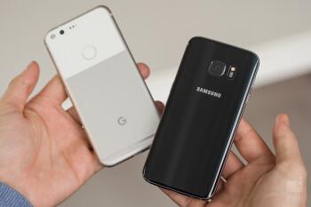 Google Pixel vs Samsung Galaxy S7