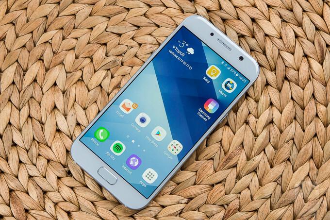 Samsung Galaxy A5 2017 Review The Golden Mean Phonearena