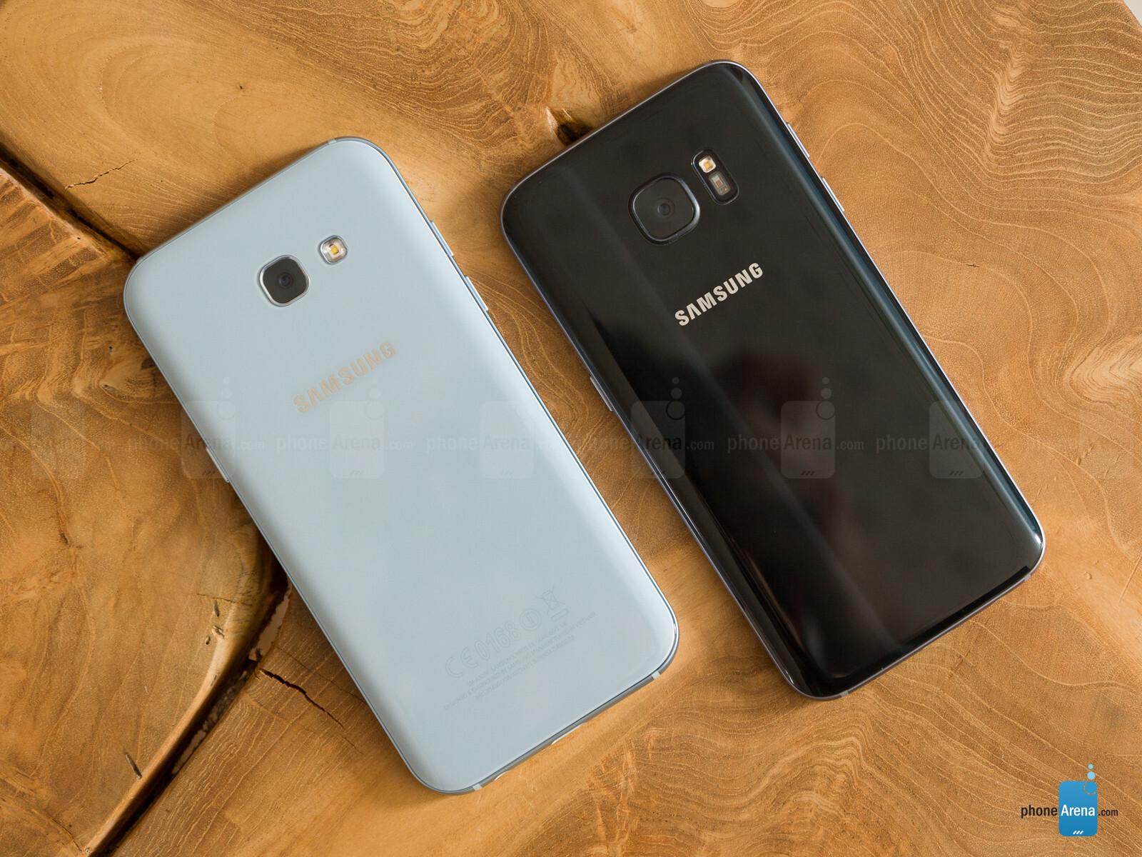 Samsung Galaxy A5 2017 Vs Samsung Galaxy S7