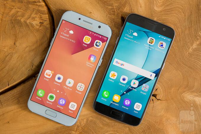 Samsung Galaxy A5 (2017) vs Samsung Galaxy S7