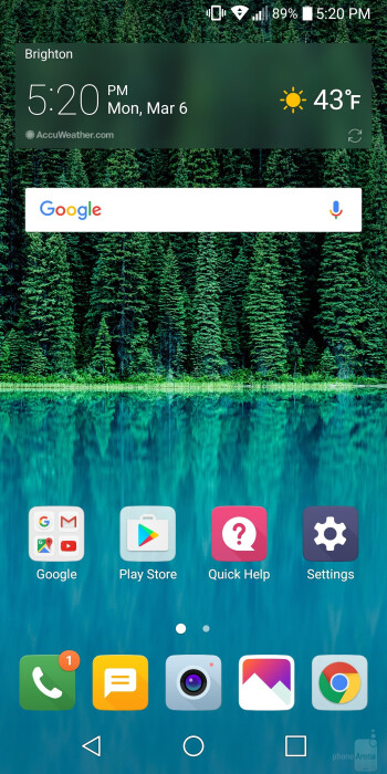 UI of the LG G6 - LG G6 vs LG V20