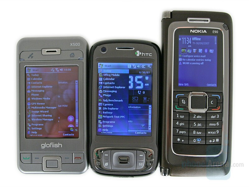 from Right to Left and Bottom to Top - Nokia E90, HTC TyTN II, Eten X500 - Nokia E90 Communicator Review