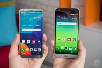 LG G6 vs LG G5 - PhoneArena