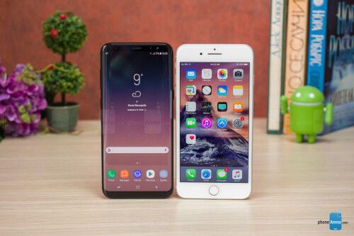 Samsung Galaxy S8+ vs Apple iPhone 7 Plus