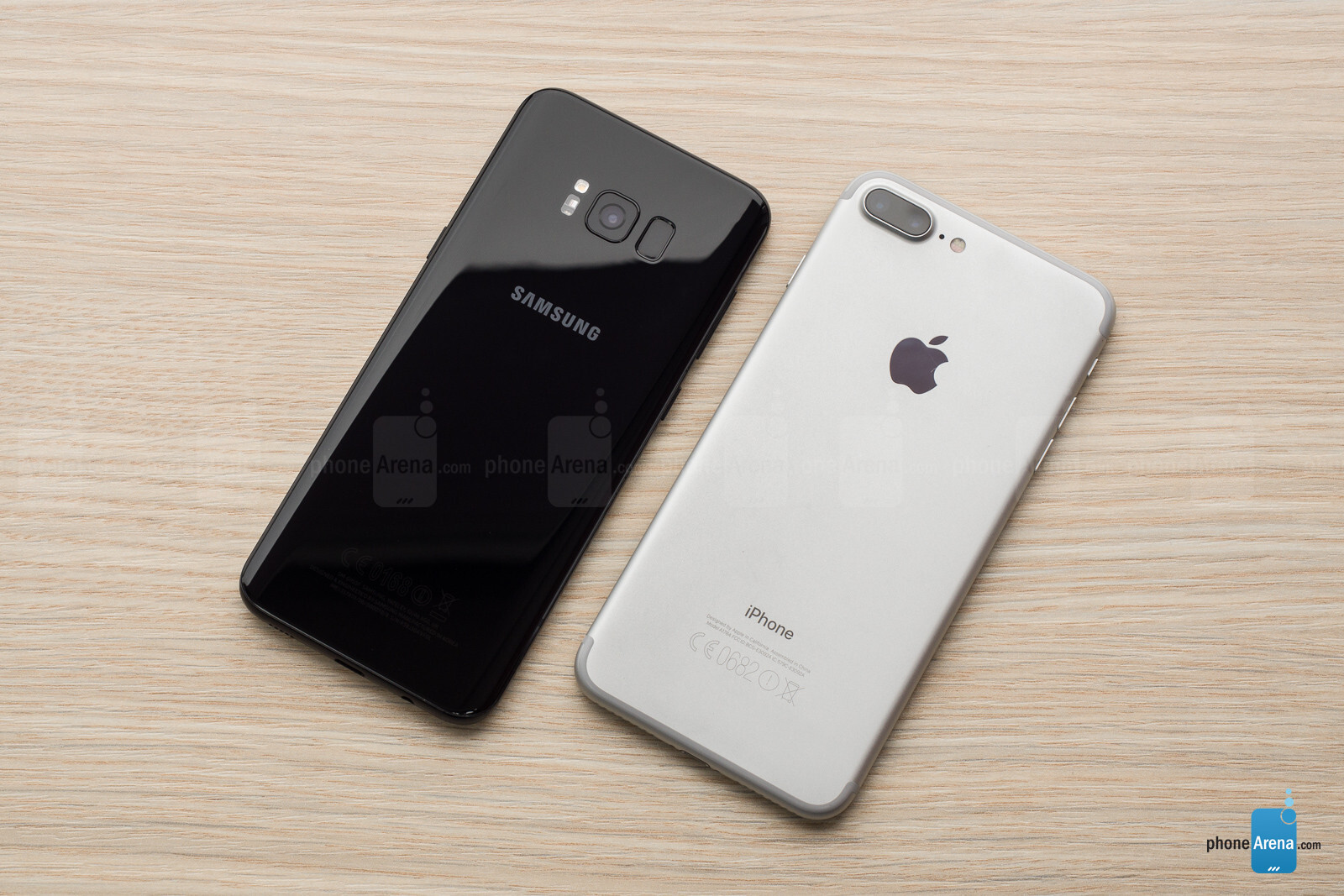 apple iphone vs samsung s8