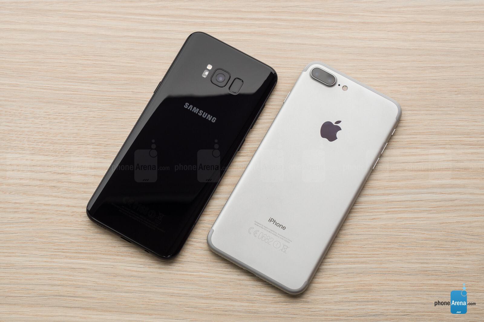 Samsung Galaxy S8 Vs Apple IPhone 7 Plus
