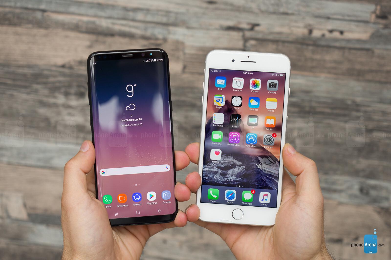 IPHONE 7 VS IPHONE 8 ARENA