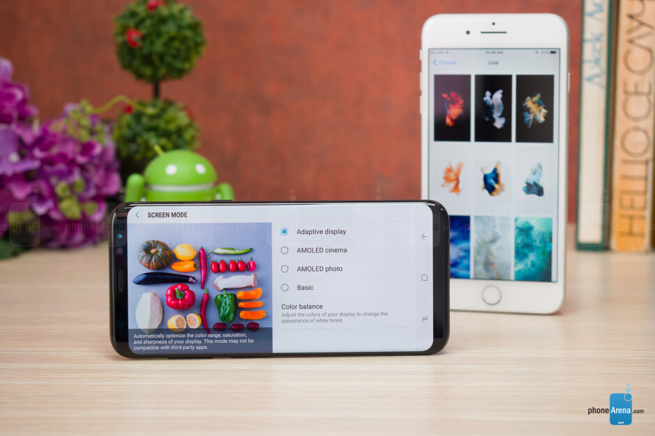 Samsung Galaxy S8+ vs Apple iPhone 7 Plus