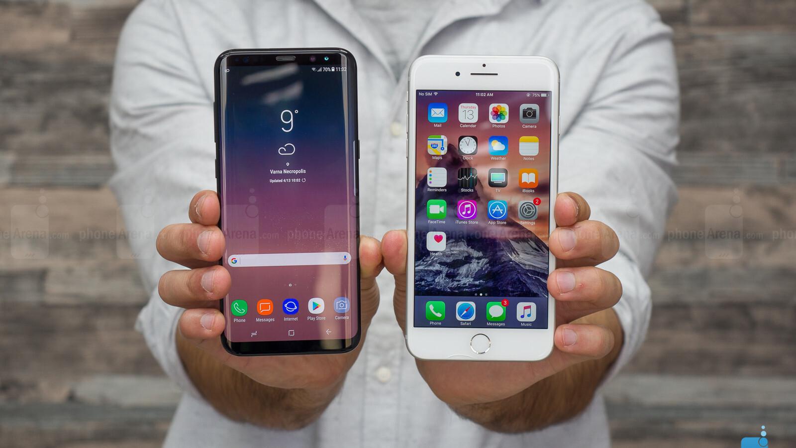 Galaxy S8 Plus Vs Iphone 7 Plus Battery Life