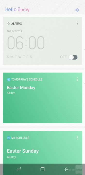 Bixby - Samsung Galaxy S8+ vs S7 Edge