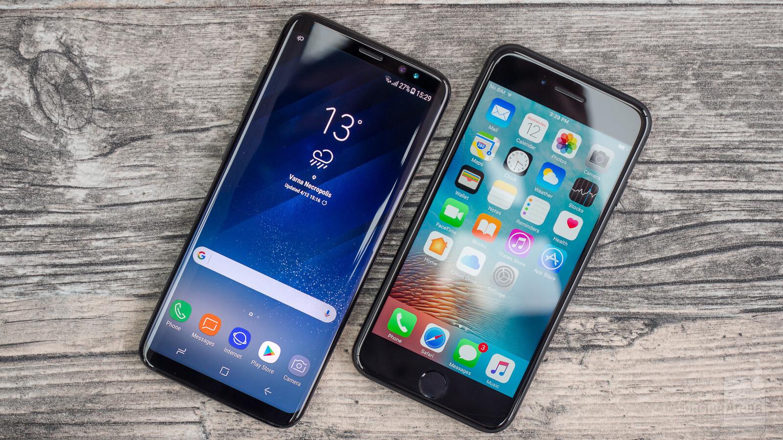 iphone 7 vs samsung s8 kimovil