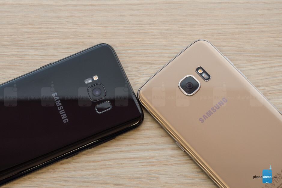 Samsung Galaxy S8+ vs S7 Edge