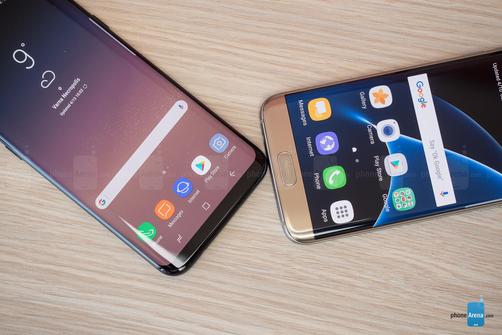 Samsung Galaxy S8+ vs S7 Edge - PhoneArena