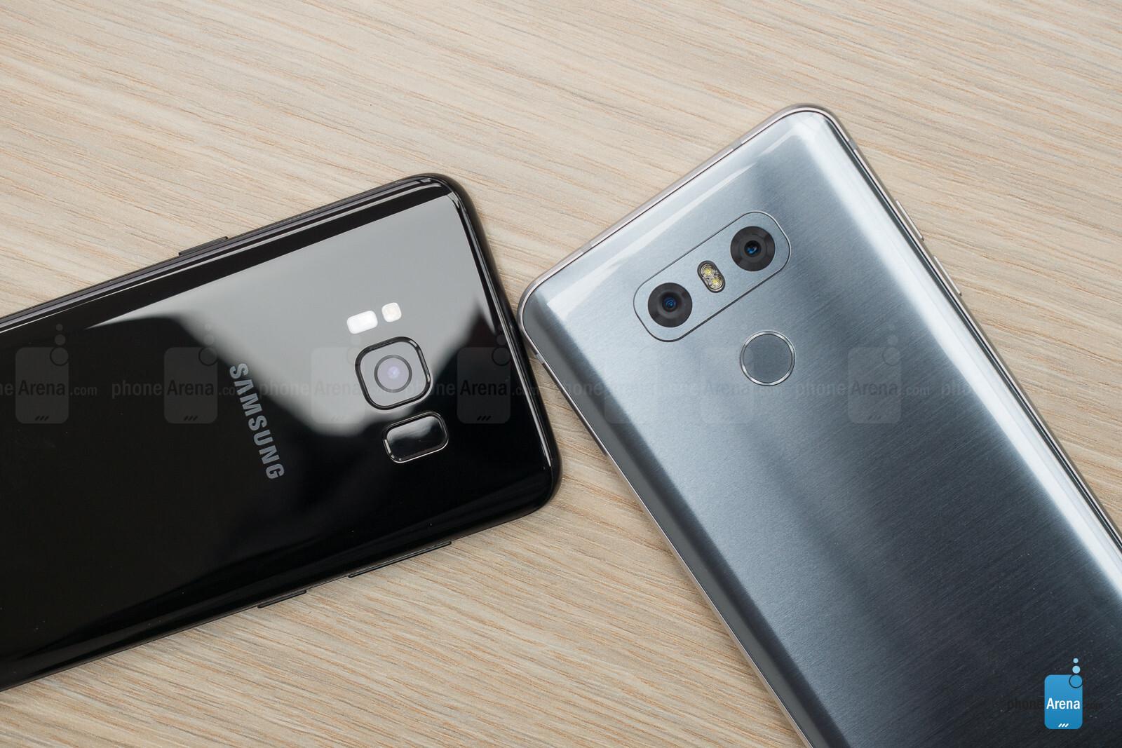 Samsung Galaxy S8 Vs Lg G6 Note Edge Second Layar Shadow