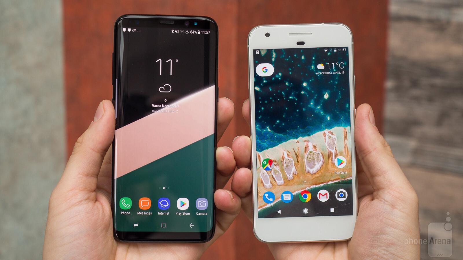 Samsung galaxy s8 vs google pixel voltagebd Images