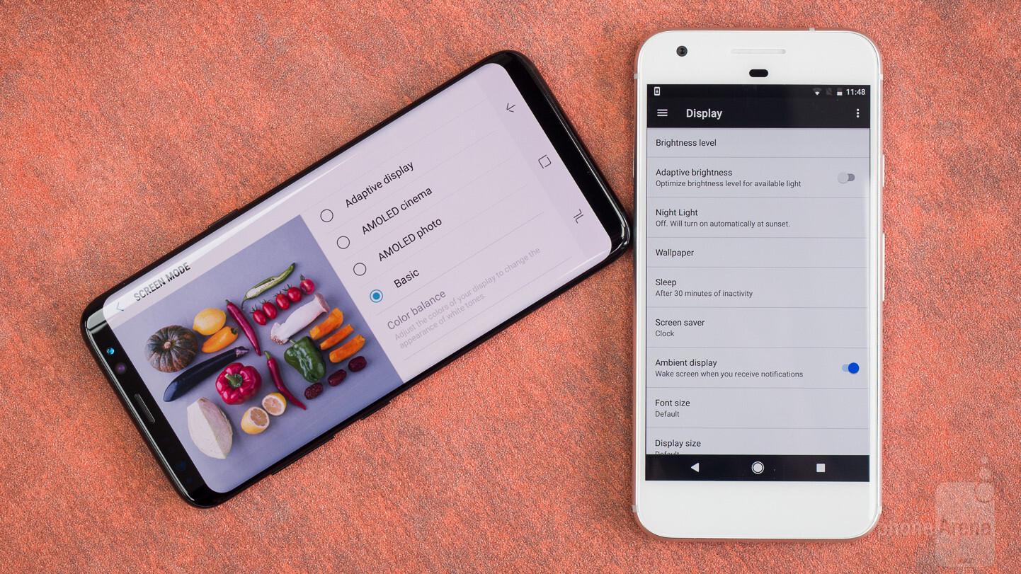 Samsung Galaxy S8 vs Google Pixel - PhoneArena