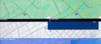 Internal display - TomTom6 - Nokia E90 Communicator Review
