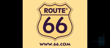 Internal display - Route 66 - Nokia E90 Communicator Review