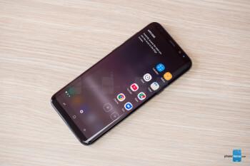 The edge panel - Samsung Galaxy S8+ vs Galaxy Note 5